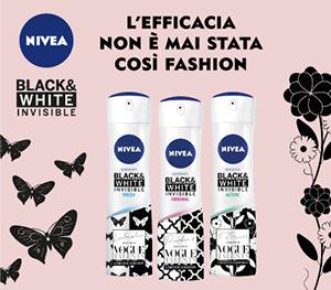 PROVA A VINCERE CON NIVEA Black & White Limited Edition